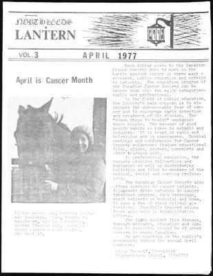 Northern Leeds Lantern (1977), 1 Apr 1977