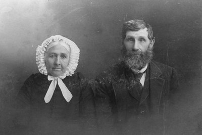 Samuel Warren and Eliza Mustard Warren c.1880