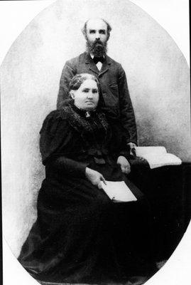 David York and Mary Muldoon York c.1895