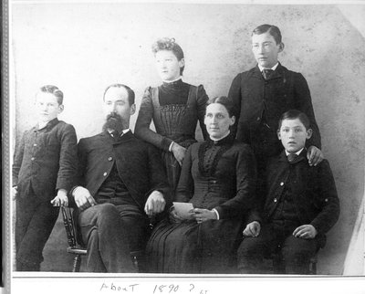 Philander Smith Alford and family c.1890