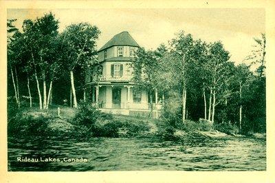Cottage on Big Rideau Lake near Portland c.1930