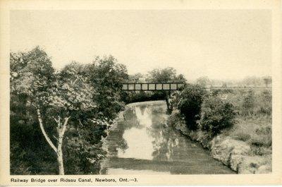 Railway bridge at Newboro