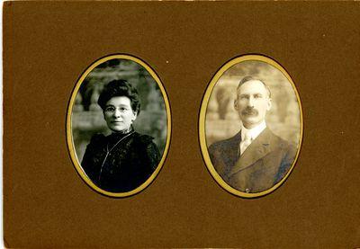 Harriet Singleton Pierce and Edward A. Pierce c.1900