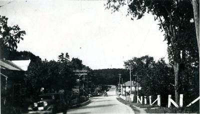 Village of Morton looking north towards Elgin c.1935