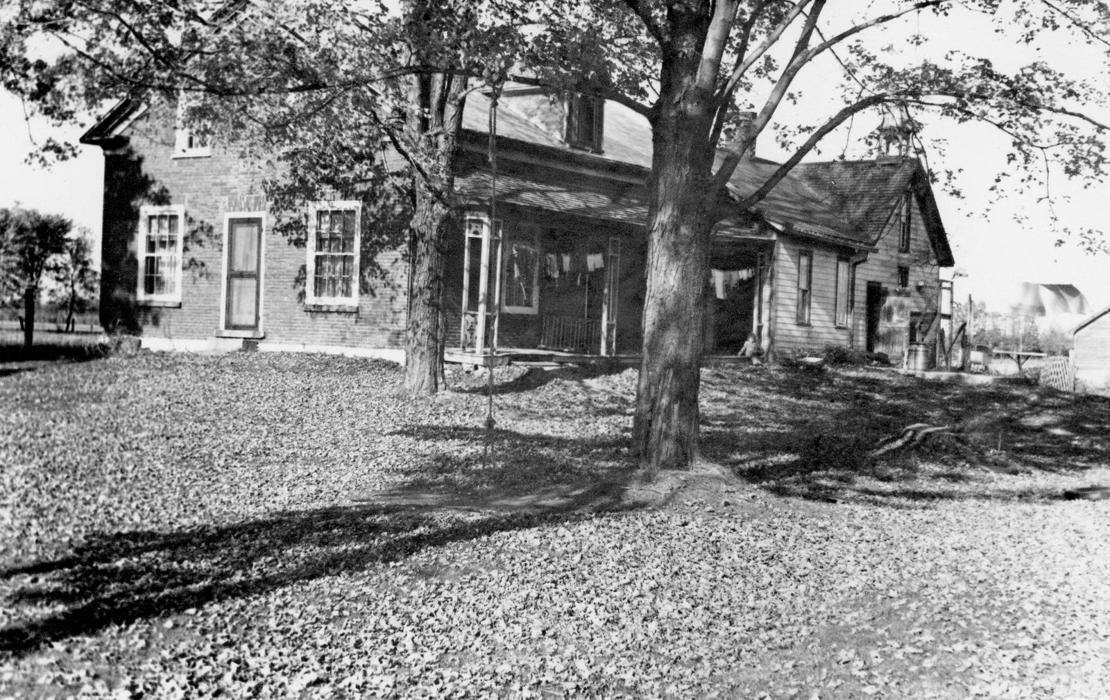 Charland House (owned originally by Rufus Brown) 1957