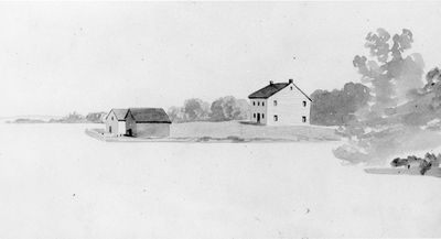 Oliver's Ferry c.1850