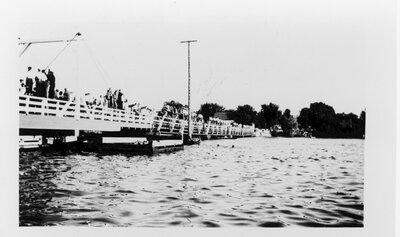 Rideau Ferry regatta in 1948