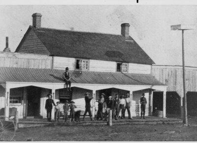 South Elmsley Hotel c.1900