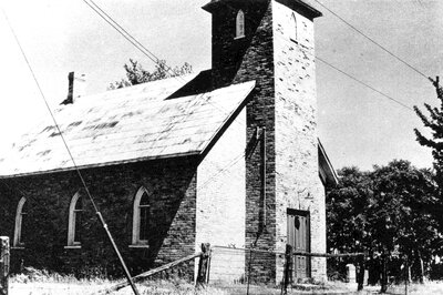 Holy Trinity Anglican Church in South Elmsley c.1950