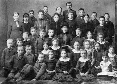 Ballantyne's School SS#3 South Elmsley about 1895