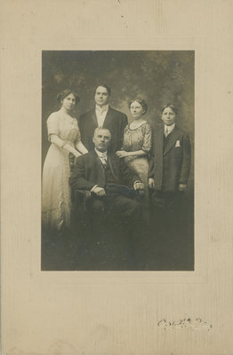 William Laishley and family