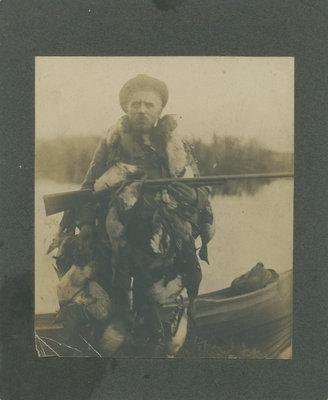 William Laishley hunting