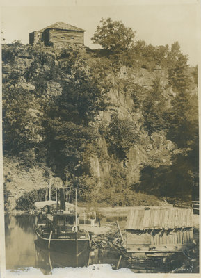 Morton Blockhouse with Shanley