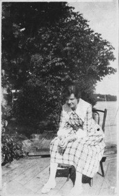 Woman at Fettercairn
