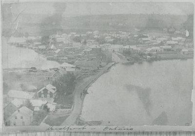 Westport Ontario taken from Spy Rock c.1900