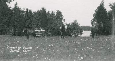 Beverley Camp Near Delta, Ontario