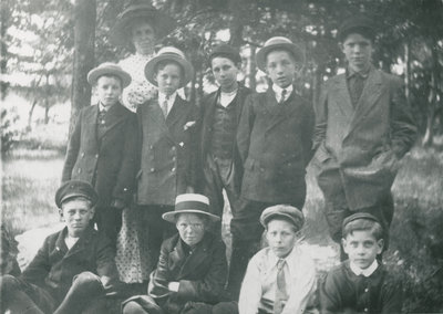Sunday School Picnic in Delta Park 1913