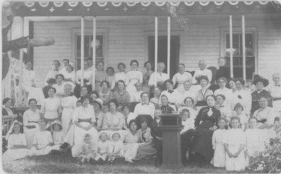 Newboro Women, possibly the Women's Institute
