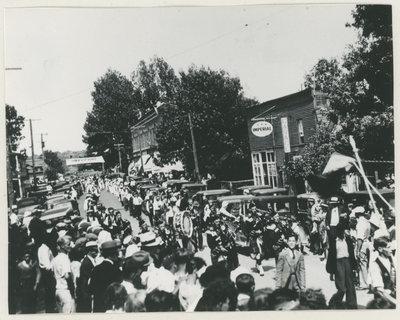 Orange Day Parade, Delta c.1933