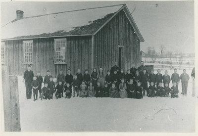 Little Red Schoolhouse in Philipsville