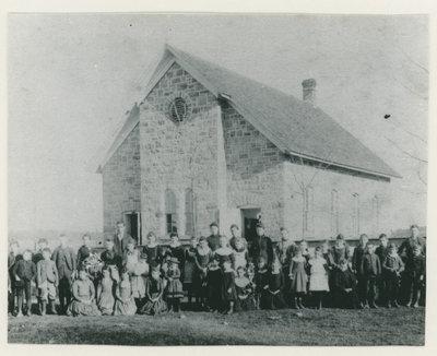 Chantry Public School c.1892