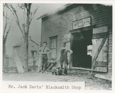 Jack Davis' Blacksmith Shop