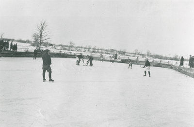Hockey on the Philipsville Rink