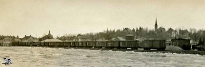 Panorama of CPR Tracks