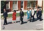 Politicians Heading to the Arthur Meighen Statue Unveiling