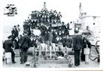 Group of Navy Members Aboard HMCS Stone Town