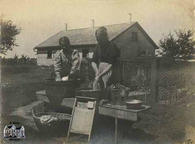 Washday on the Farm