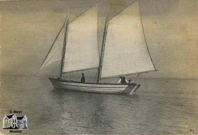 Shamrock IV Sailboat