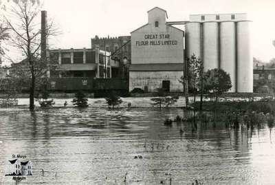 Great Star Flour Mill, ca. 1950