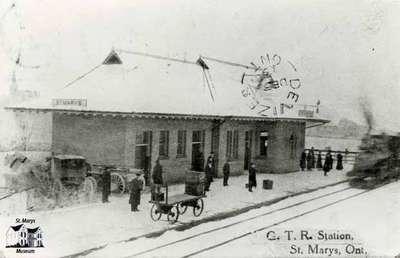 G.T.R. Station, ca. 1909