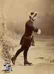 C.S. Rumsey skating, ca. 1870