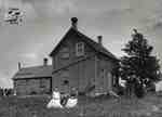 Two Women and Farmhouse, c. 1902-1906