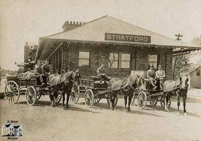 Stratford Junction Station