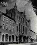Theodore Hutton, Opera House, W.V. Hutton Blocks in 1884