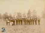 Kirkton L.O.L. Band at Granton Fair 1905