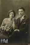 Jack (Attilio) and Flossie (Florence) Sgariglia wedding photo
