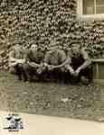 Jos. Albert, Ted Bradley, George Aldice, Freddy Fox in front of Richardson's