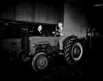 R.B. Bradley and C.C. Brannan with a Tractor, Hamilton, ON