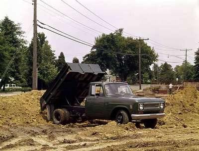 Dump Truck on a Construction Site