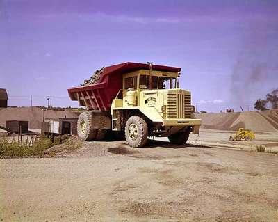 Dump Truck at a Quarry