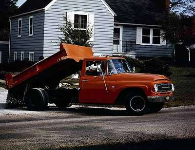 Truck Used for Road Maintenance and Repair, Toronto, ON
