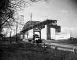 Construction of the Skyway, Burlington Beach.