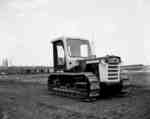 IHC Crawler Tractor, Model TD 5, with a special cab.