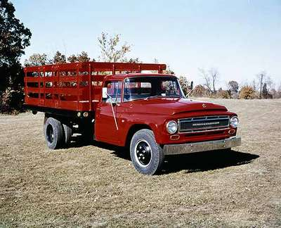 IHC Truck, model 1300, with a Stake body.