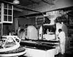 Bread production at Jackson's Bakeries Ltd., London, Ontario.
