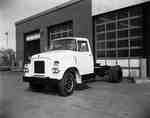 An IHC BC150 truck with a 3/4 front.